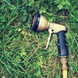 Rasen waessern